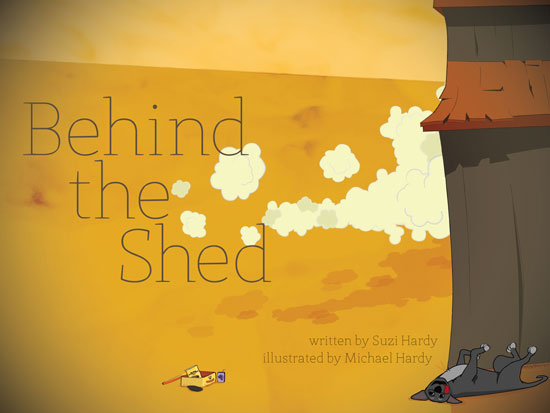 Behind the Shed alternative cover