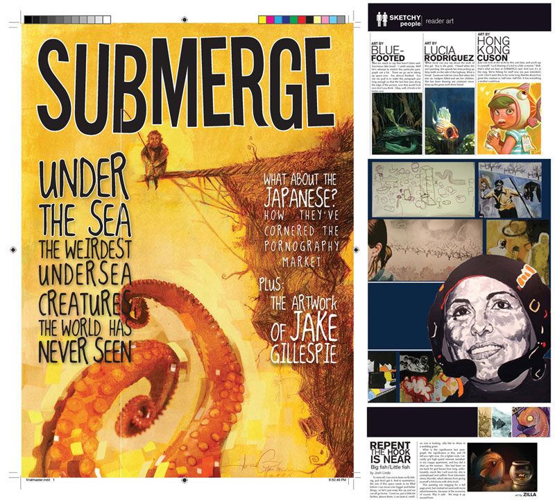 Submerge Magazine snippets